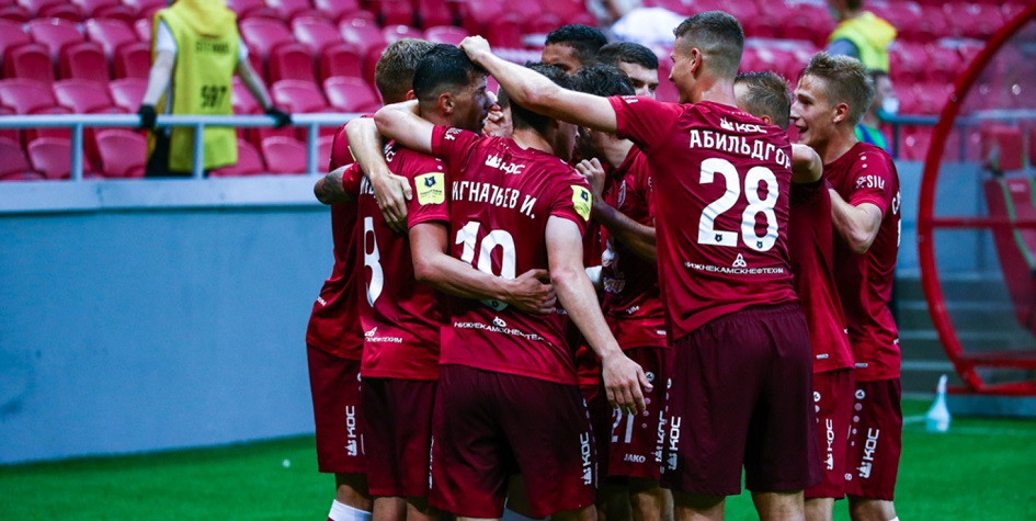 «Рубин» победил «Арсенал» в чемпионате России