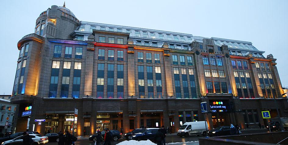 Бизнес-центр «Воздвиженка-центр» (онжеВоенторг), которыйпринадлежит ОАО«Торговый дом «Центральный военный универсальный магазин» (ЦВУМ)