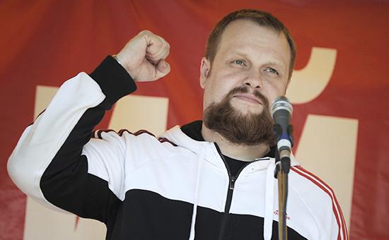 Лидер националистического объединения «Русские» Дмитрий Демушкин