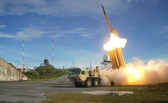 Cистема противоракетной обороны (ПРО) THAAD. Октябрь 2015 года