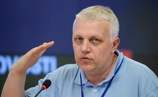 Журналист Павел Шеремет.27 июня 2013 года