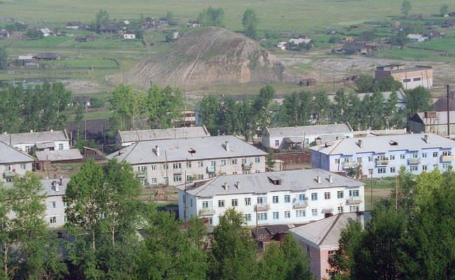 Шахтерский поселок Букачача в Читинской области