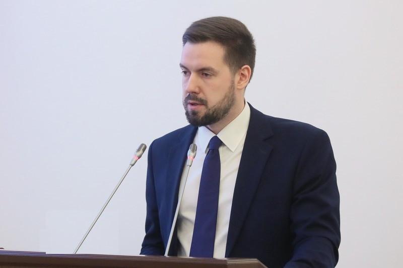 Председатель комитета финансов Петербурга Алексей Корабельников