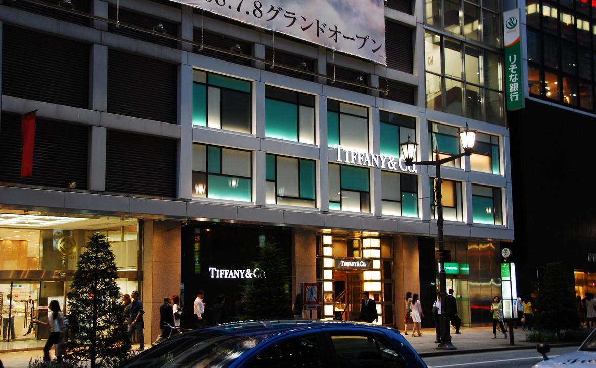 Магазин Tiffany в районе Гиндза, Токио