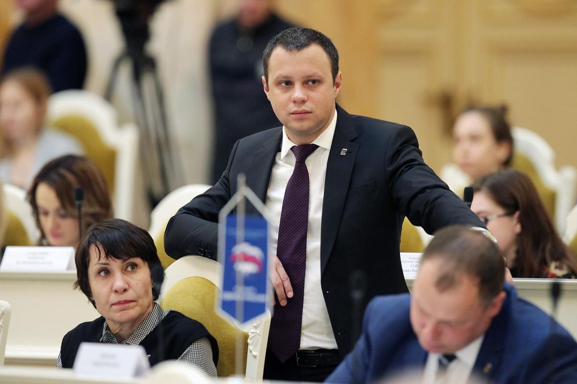 Денис Четырбок, депутат ЗакСа