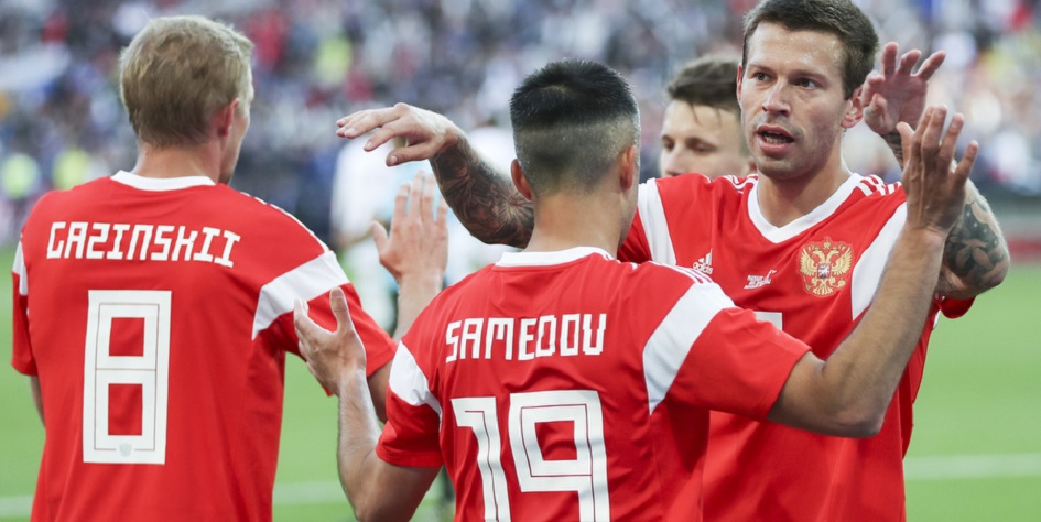 Сборная России установила антирекорд в рейтинге ФИФА