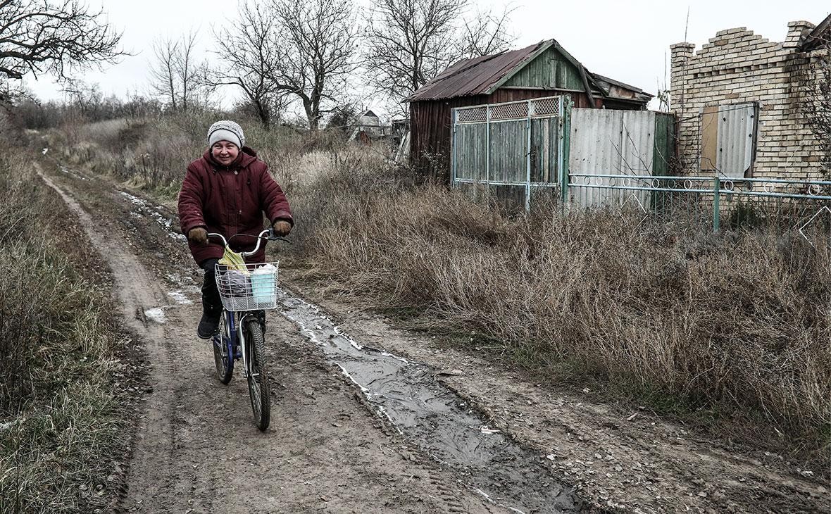 Поселок Зайцево в Донецкой области