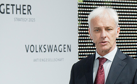 Гендиректор Volkswagen Маттиас Мюллер