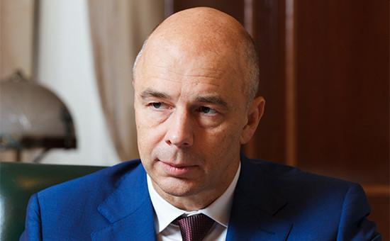 Министр финансов РоссииАнтон Силуанов