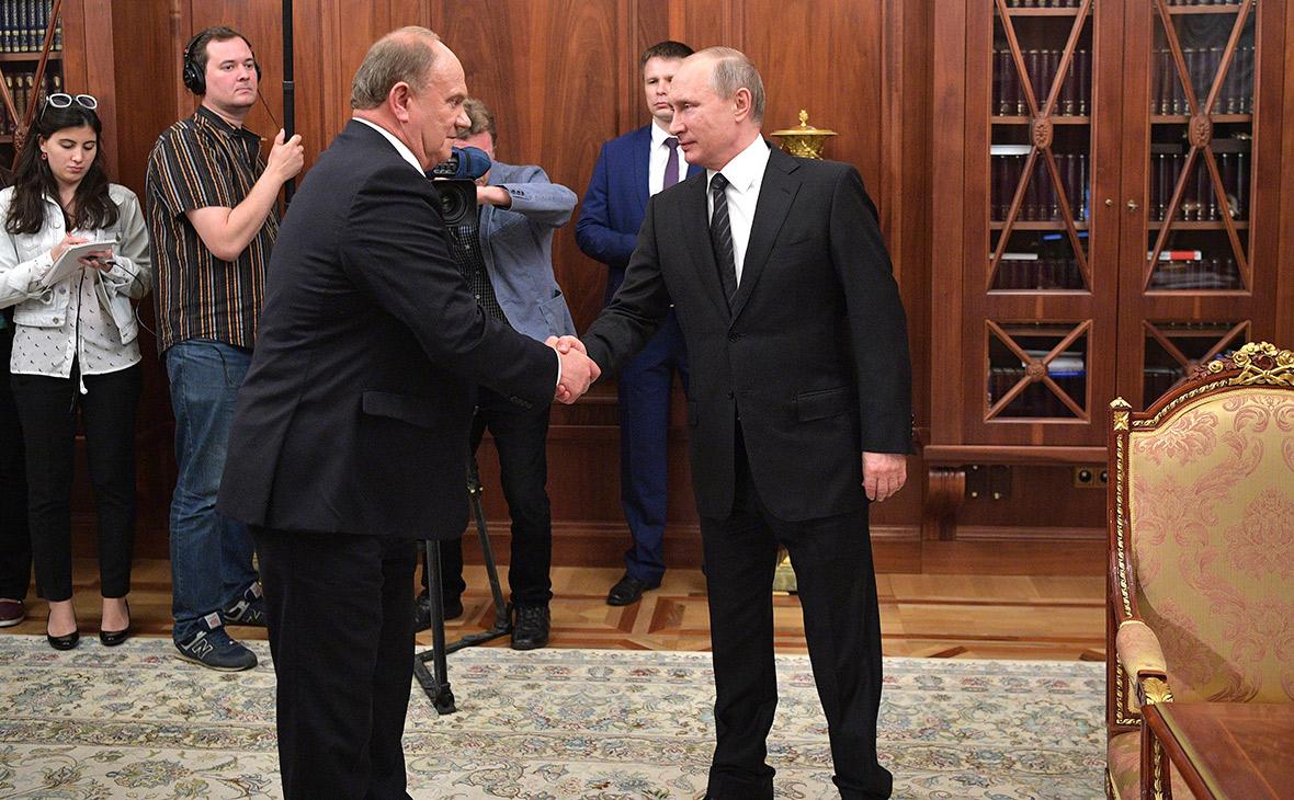 Геннадий Зюганов к юбилею получит одну из высших государственных наград