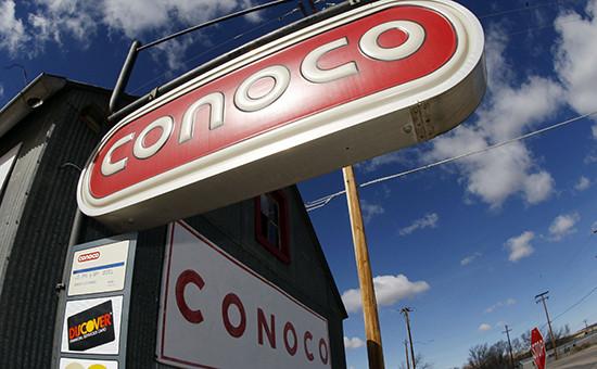 США, логотип компании ConocoPhillips
