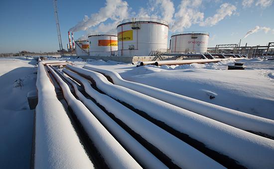 Завод «Роснефти» вНовокуйбышевске