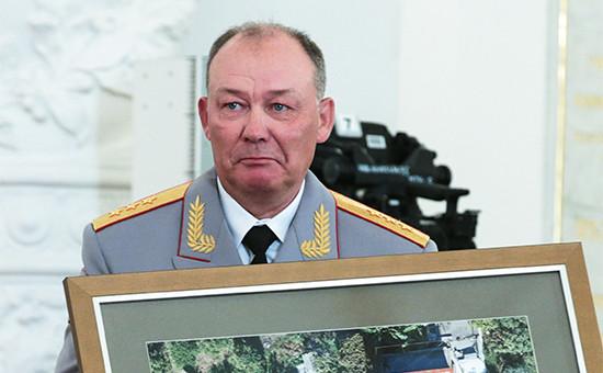 Первый заместитель командующего войсками Центрального военного округа генерал-полковник Александр Дворников