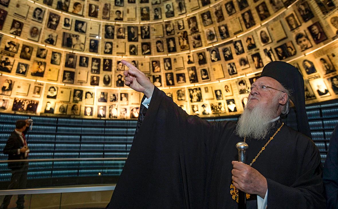 РПЦ назвала «грубым вторжением» назначение Варфоломеем экзархов в Киев