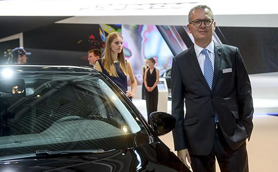 Гендиректор Peugeot в России Фредерик Вюаран