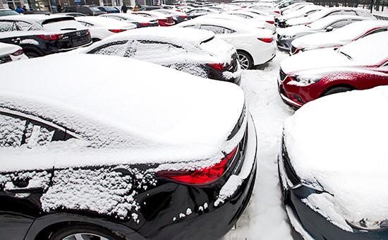 Парковка автомобилей напродажу