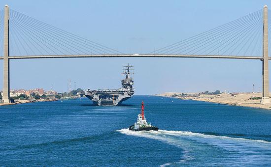 Авианосец USS Nimitz.2013 год