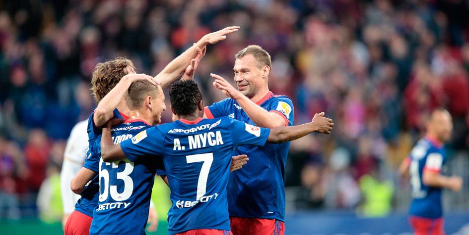 ЦСКА забил шесть голов «Арсеналу» и лишил «Зенит» Лиги чемпионов