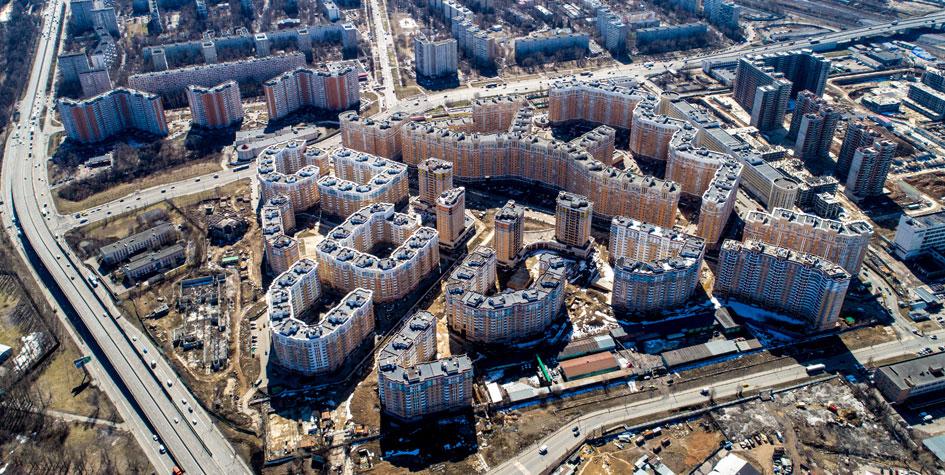 Недостроенный жилой комплекс «Царицыно»