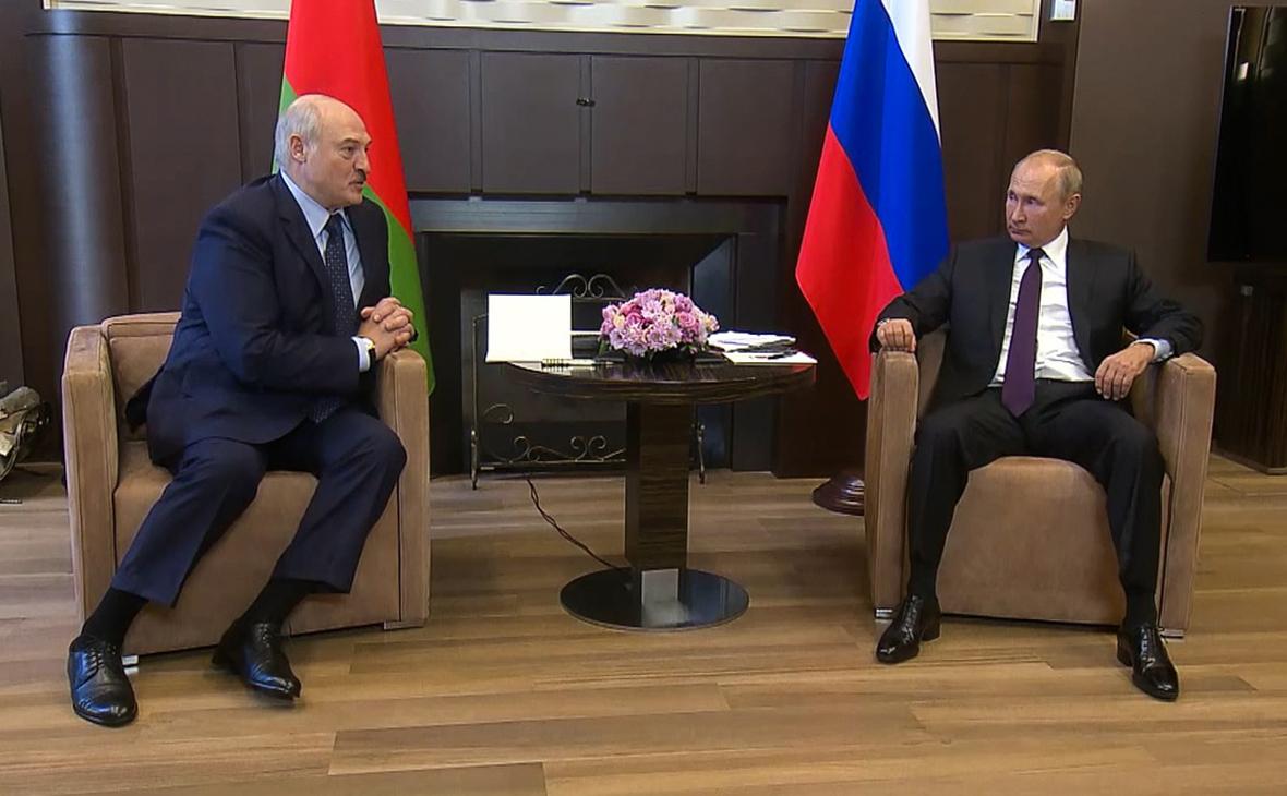 Как в Минске оценили первую за время протестов встречу Путина и Лукашенко