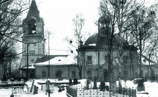 Фото Храма Сошествия Святого Духа за Невской заставой