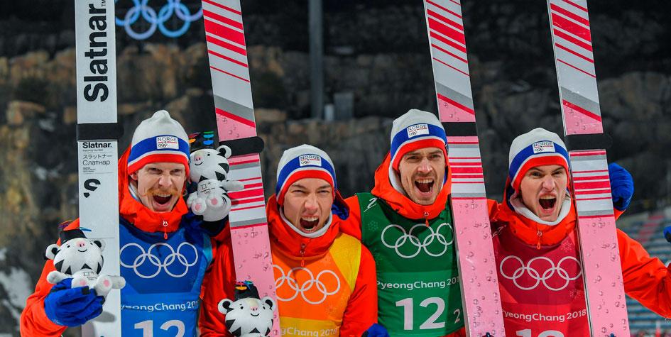 Норвежцы побили свой рекорд по количеству медалей на Олимпиадах