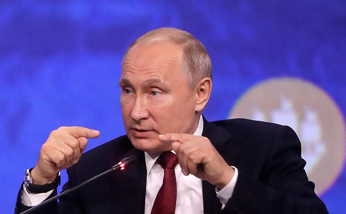 Путин впервые публично высказался о деле против Майкла Калви