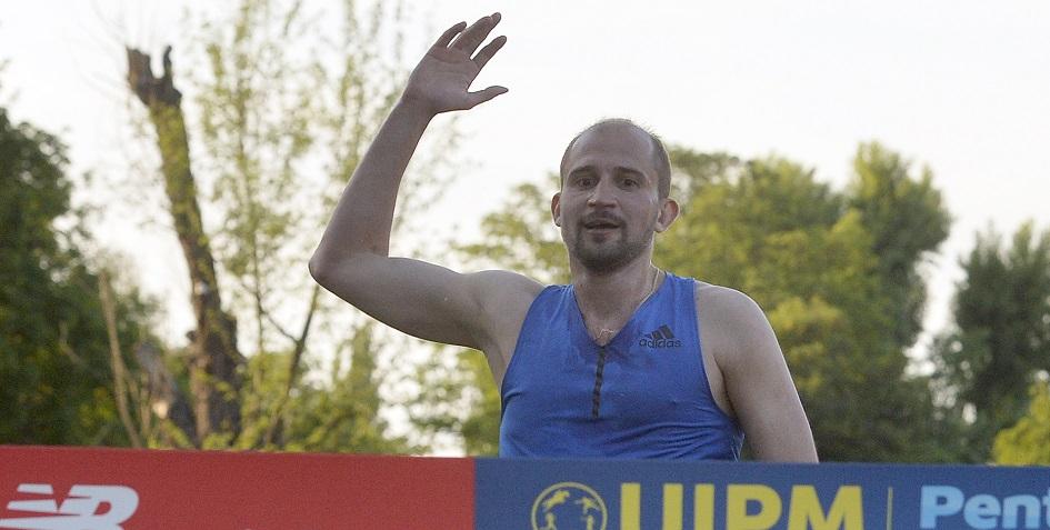 Победитель Олимпиады-2016 по современному пятиборью Александр Лесун
