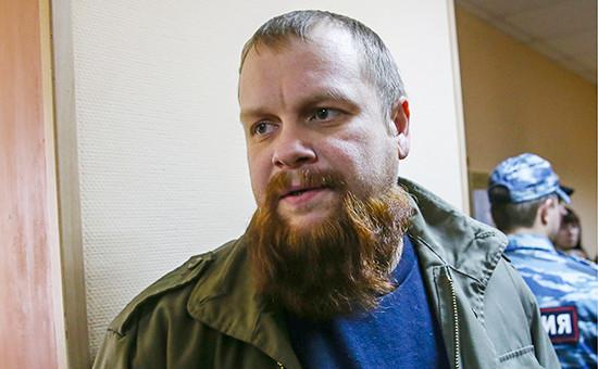 Глава объединения «Русские» Дмитрий Демушкин