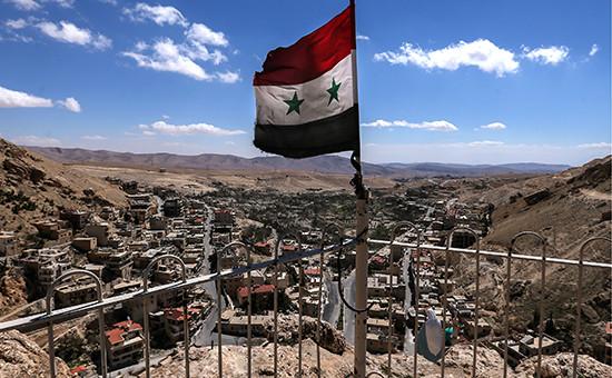 Национальный флаг Сирии
