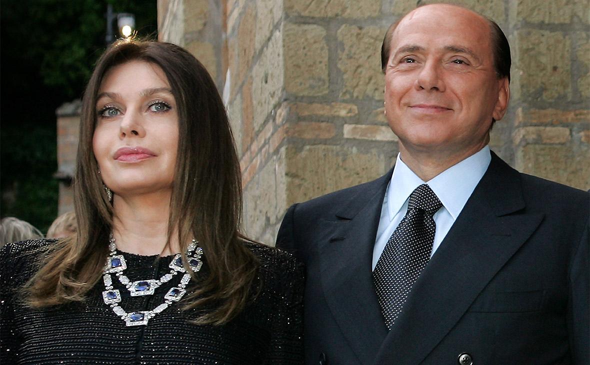 Вероника Ларио и Сильвио Берлускони. 2007 год