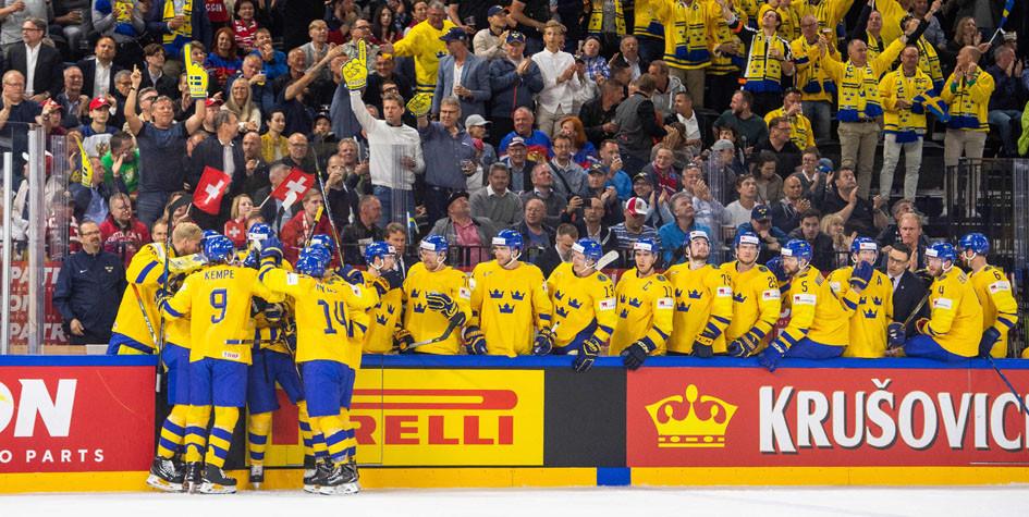 Шведские хоккеисты второй раз подряд стали чемпионами мира