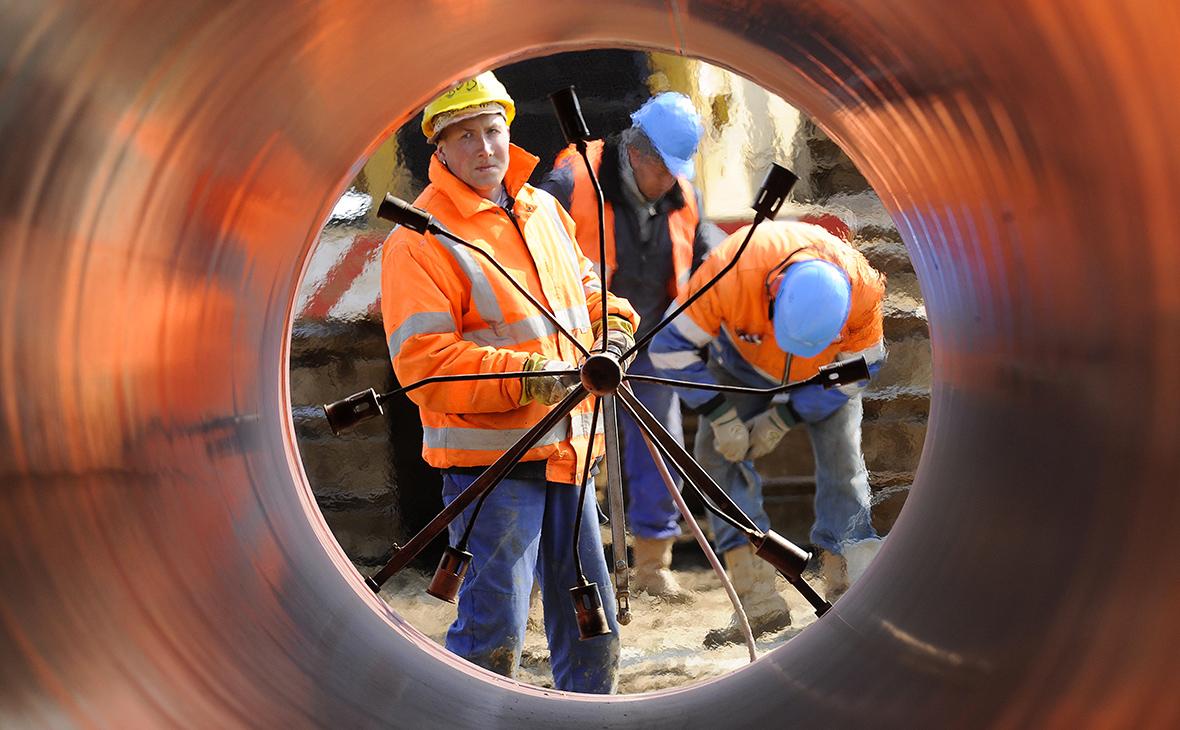 Строительствогазопровода OPAL в Северной Германии