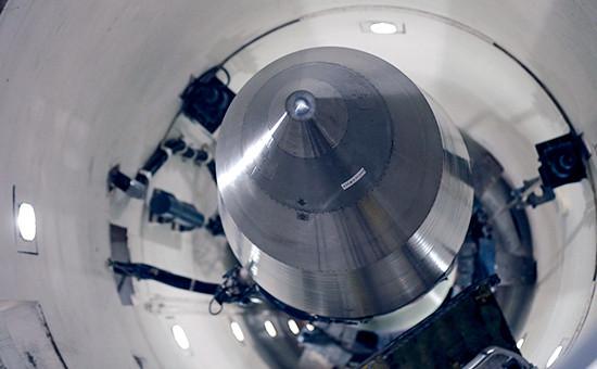 Ракета с ядерной боеголовкой типа «Минитмен» в пусковой шахте