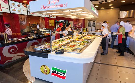 Итальянский ресторан Sbarro