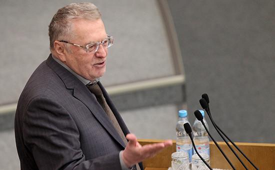 Лидер ЛДПР Владимир Жириновский. Февраль 2016 года