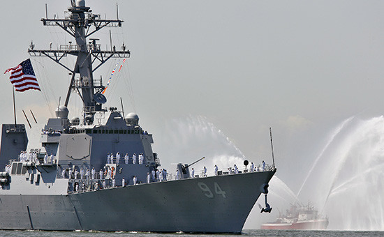 Американский миноносец USS Nitze