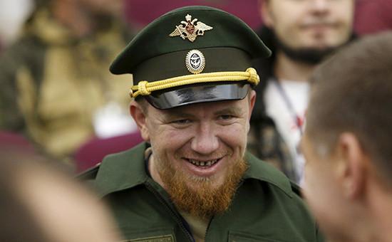 Военнослужащий армии ДНР спозывным Моторола Арсен Павлов