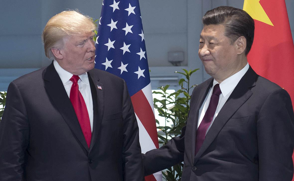 Дональд Трамп иСи Цзиньпин