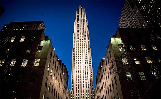 Небоскреб 30 Rockefeller Plaza (30 Rock) в Нью-Йорке