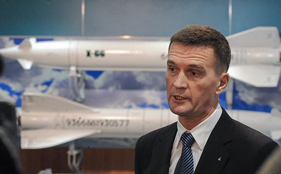 Глава корпорации «Тактическое ракетное вооружение» (КТРВ) Борис Обносов