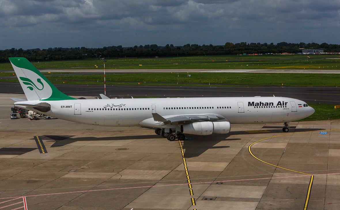 Самолет компанииMahan Air