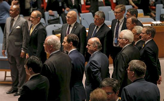 Министры финансов стран—членов Совета Безопасности ООН