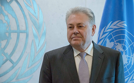 Постоянный представитель Украины в ООН Владимир Ельченко