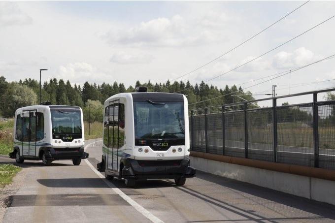 Финляндия. Беспилотные автобусы