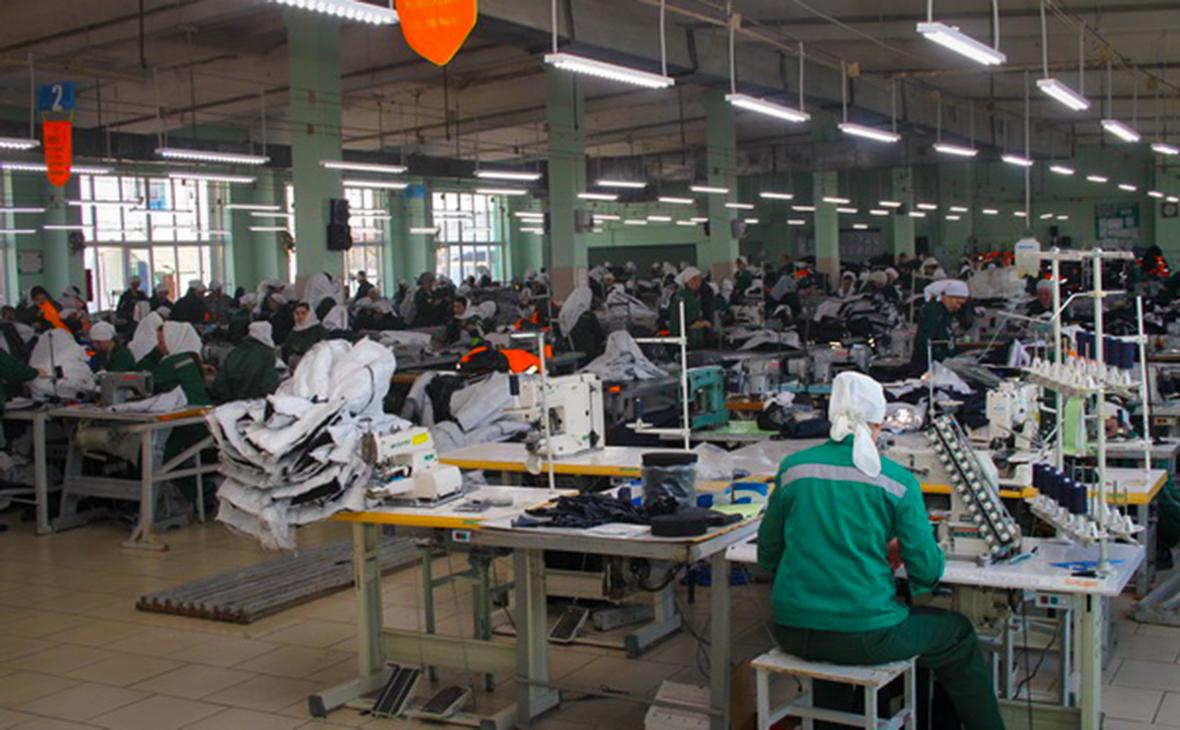 Швейный цех в исправительной колонии №14 по УФСИН Мордовии