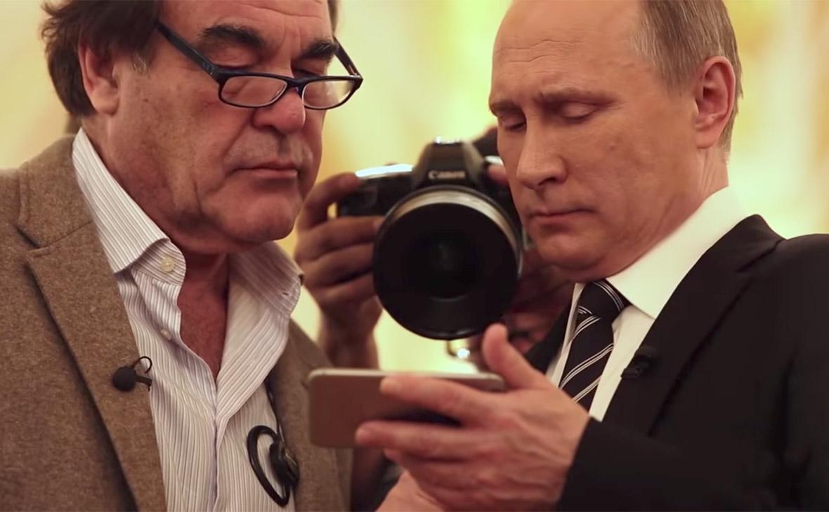 Оливер Стоун иВладимир Путин