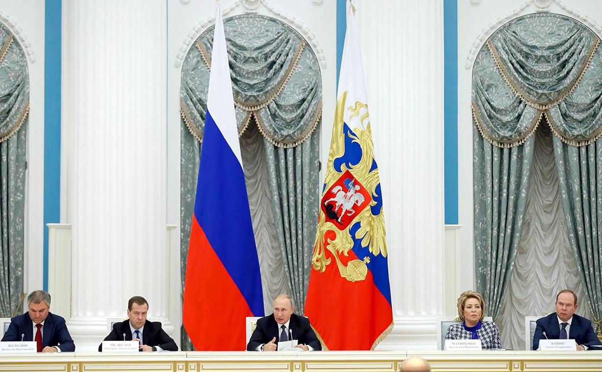 Владимир Путин на заседании Совета по стратегическому развитию и национальным проектам