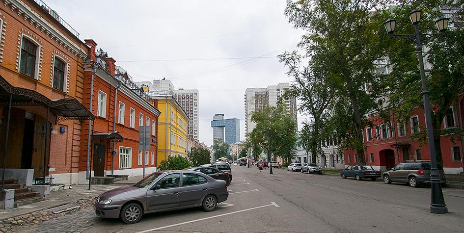 Современное состояние Школьнойулицы в Таганском районе Москвы