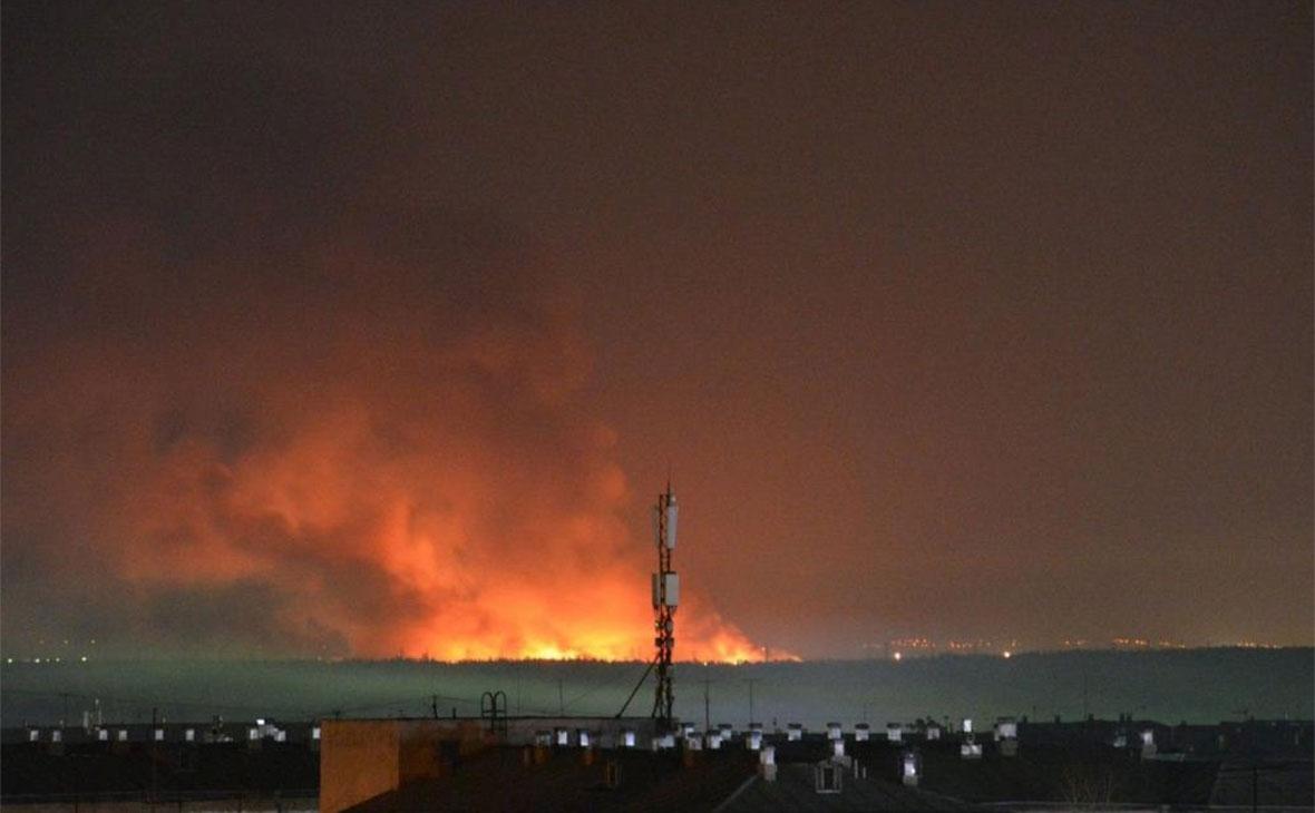 Пожар в исправительной колонии № 15 в Ангарске